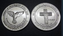 Mercy and Grace Coin